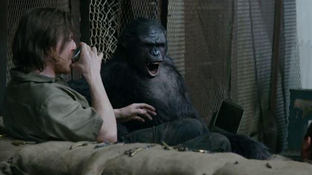 Planet der Affen: Revolution Trailer DF