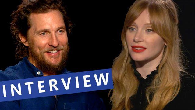 """FILMSTARTS-Interview zu """"Gold"""" mit Matthew McConaughey, Bryce Dallas Howard, Edgar Ramirez & Stephen Gaghan(FILMSTARTS Original)"""