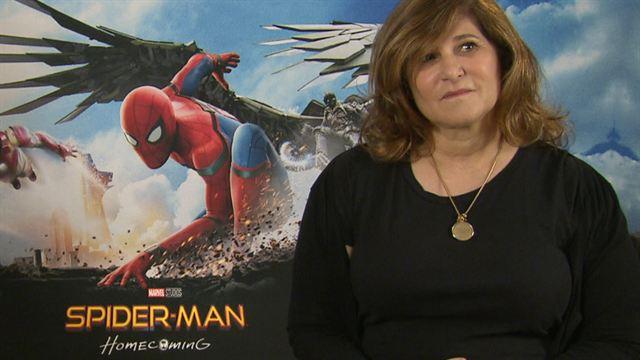 """""""Spider-Man: Homecoming""""-Produzentin Amy Pascal über die Verbindung zu """"Venom"""" und """"Silver Sable And Black Cat"""" (FILMSTARTS-Original)"""