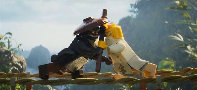 The LEGO Ninjago Movie Trailer DF