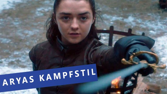 Game Of Thrones: Wir erklären euch Aryas Kampfstil gegen Brienne (siham.net-Original)