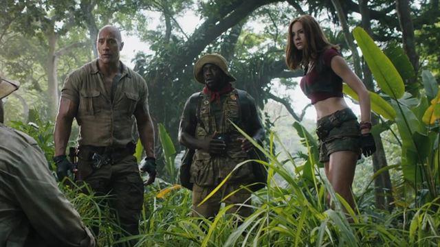 Jumanji: Willkommen im Dschungel Trailer (8) OV