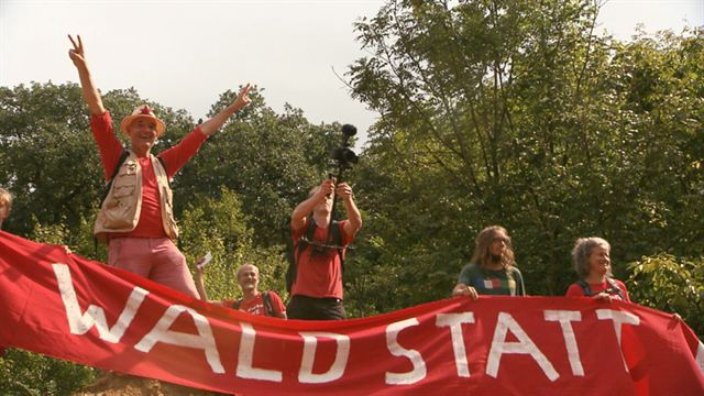 Die rote Linie – Vom Widerstand im Hambacher Forst Trailer DF