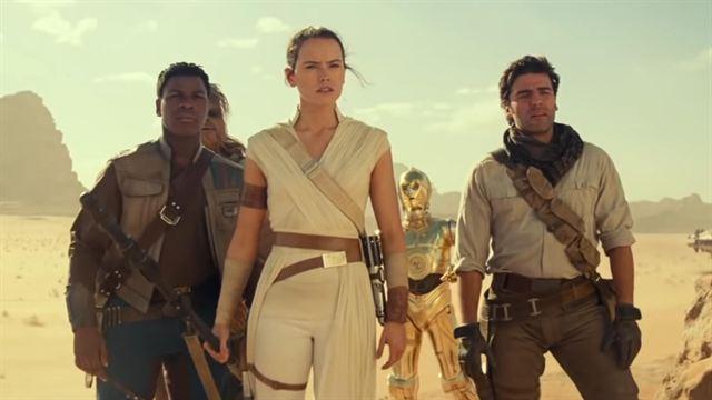 Star Wars 9: Der Aufstieg Skywalkers Trailer (4) OV