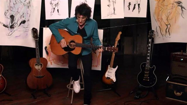 Ronnie Wood: Somebody Up There Likes Me Trailer OmdU