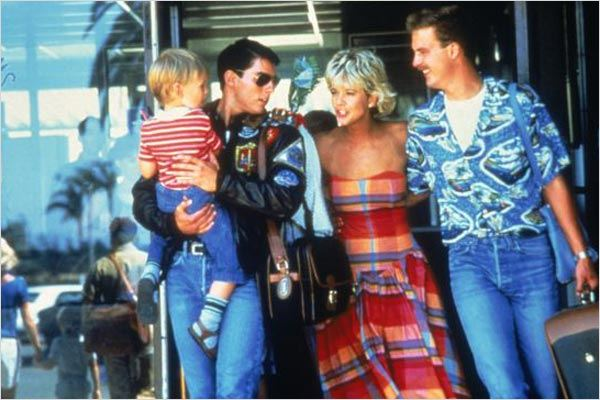 Top Gun : Bild Anthony Edwards, Meg Ryan, Tom Cruise