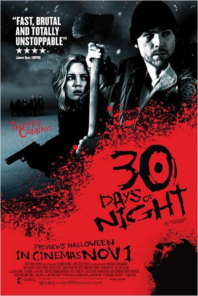30 Days of Night : poster David Slade, Josh Hartnett, Melissa George