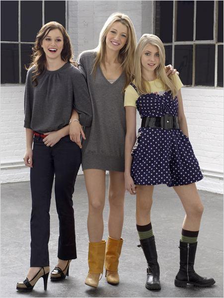 Gossip Girl : Bild Blake Lively, Leighton Meester, Taylor Momsen