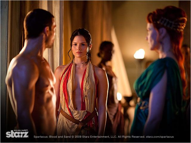 Viva bianca full frontal nude topless sex scenes spartacus blood and sand s01 2010 - 5 2