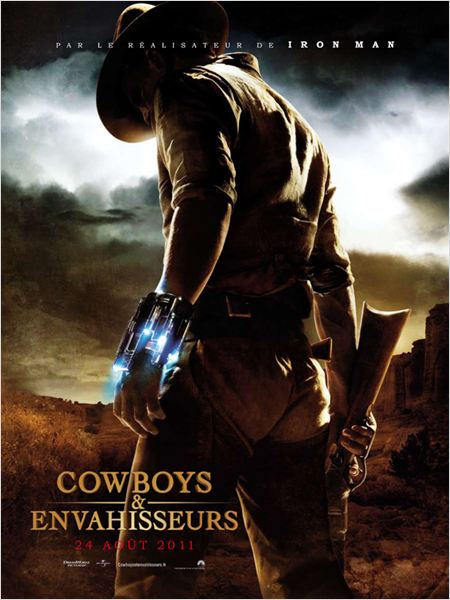 Cowboys & Aliens : Kinoposter