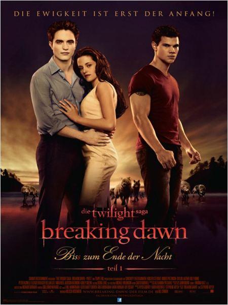 Twilight 4: Breaking Dawn - Bis(s) zum Ende der Nacht (Teil 1) : Kinoposter