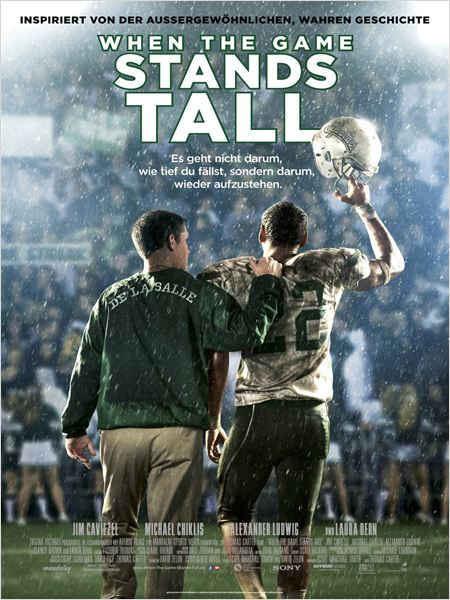 When The Game Stands Tall : Kinoposter
