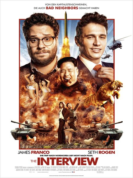 The Interview : Kinoposter