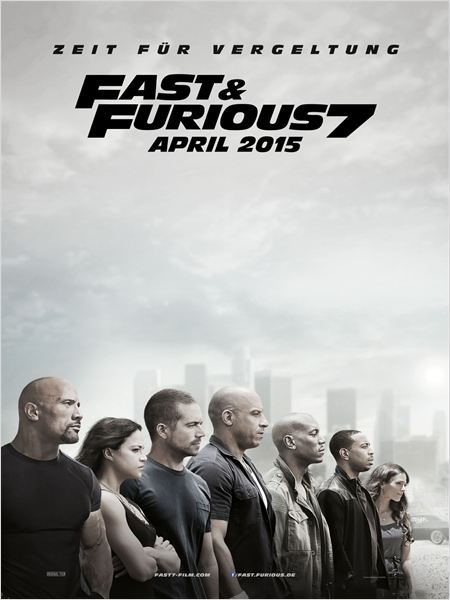 Fast & Furious 7 : Kinoposter