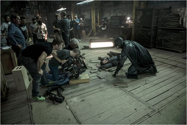 Batman V Superman: Dawn Of Justice : Bild Ben Affleck, Zack Snyder