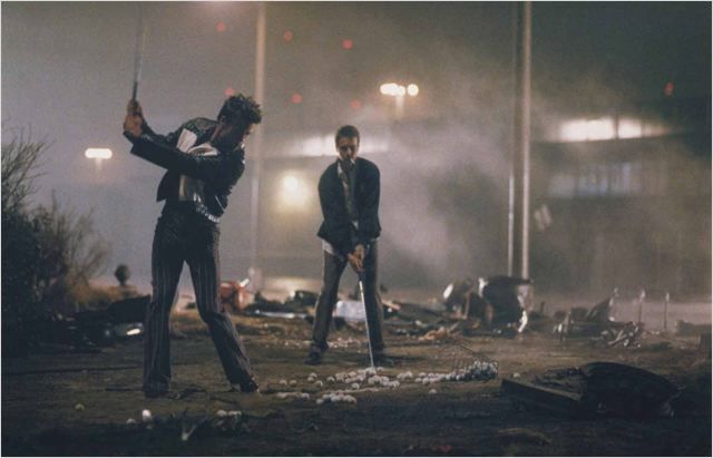 Fight Club : Bild Brad Pitt, Edward Norton
