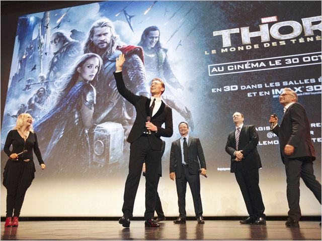 Thor 2 - The Dark Kingdom : Vignette (magazine) Kevin Feige, Tom Hiddleston