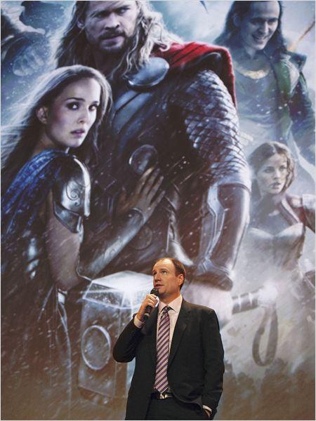 Thor 2 - The Dark Kingdom : Vignette (magazine) Kevin Feige, Tom Hiddleston