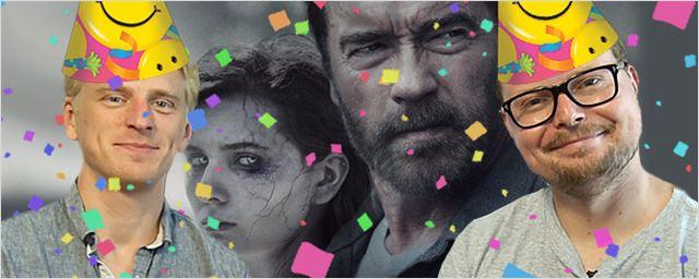 """Arnie und seine Zombie-Tochter in der Jubiläumsfolge der FILMSTARTS Heimkino-Ecke mit """"Maggie"""" und """"Dragon Ball Z: Kampf der Götter"""""""