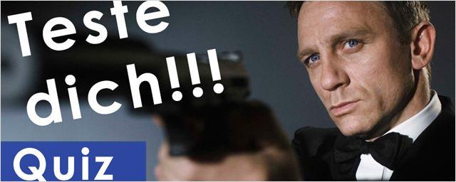 Wie gut kennst du dich mit James Bond aus? Teste dein Wissen über den Agenten in unserem Quiz! [Video]