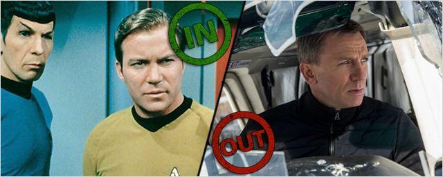 """Die INs & OUTs der Woche: """"Star Trek"""" und """"James Bond"""""""