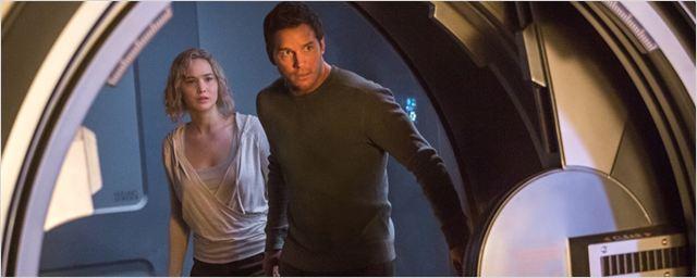 """""""Passengers"""": Deutscher Trailer zum Sci-Fi-Drama mit Chris Pratt und Jennifer Lawrence alleine im All"""