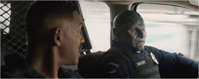 """Will Smith mit einem Ork auf Streife: Trailer zu Netflix' Fantasy-Cop-Thriller """"Bright"""""""