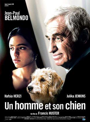 Ein Mann und sein Hund