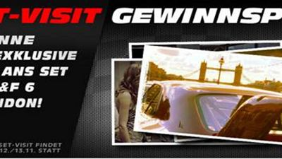 """Fast & Furious 6"": Besuch am Filmset in London zu gewinnen"