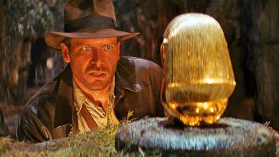 """""""Indiana Jones 5"""": Erstes Bild von Harrison Ford im Indy-Kostüm – und von einem Stuntman mit supergruseliger Maske"""