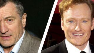 CBS kauft Serienpiloten von Robert de Niro und Conan O'Brien