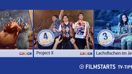 Die FILMSTARTS-TV-Tipps (8. bis 14. August 2014)