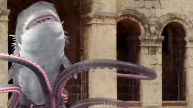 """Die neueste Film-Monster-Absurdität im Trailer zu """"Sharktopus vs. Whalewolf"""""""