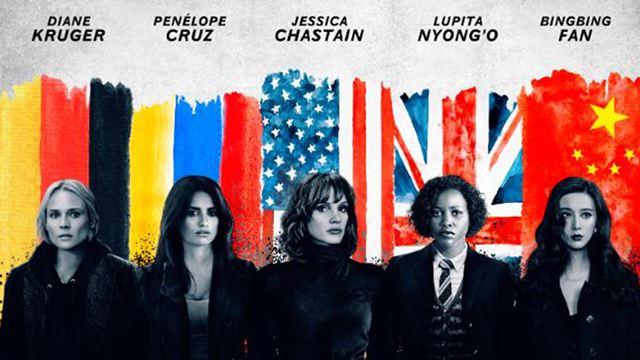 """Agentinnen-Action: Trailer zu """"The 355"""" mit u. a. Jessica Chastain, Diane Kruger und Lupita Nyong'o"""