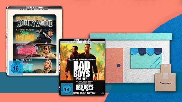 DVDs & Blu-rays beim Amazon Prime Day: Die besten Angebote zu Steelbooks, Mediabooks & Limited Editions