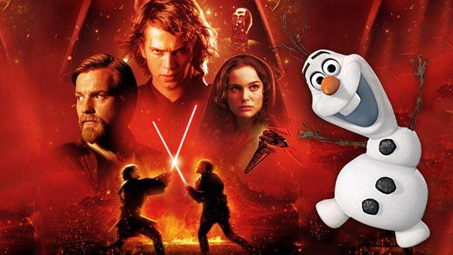 """""""Star Wars"""" trifft """"Die Eiskönigin"""": Diese Zusammenfassung der Prequel-Trilogie müsst ihr einfach sehen!"""