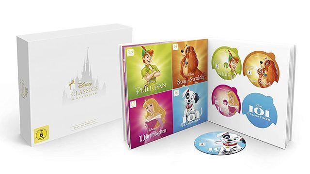 Superbox mit 56 animierten Disney-Klassikern: Black Friday Blitzangebot bei Amazon für nur 3 Euro pro Blu-ray!