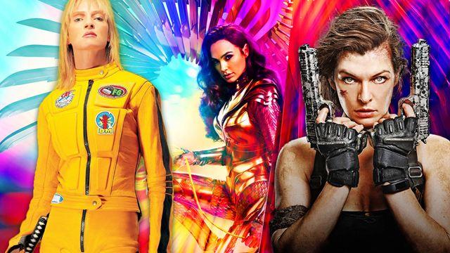Die besten Badass-Action-Heldinnen der Filmgeschichte