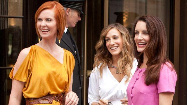 """Erstes Bild zur """"Sex And The City""""-Serienfortsetzung: So sehen Carrie, Miranda und Charlotte heute aus"""