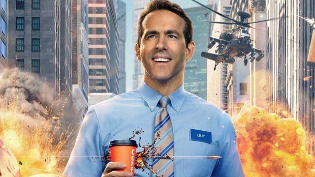 """""""GTA"""", """"Animal Crossing"""", """"Minecraft"""" und mehr: Ryan Reynolds erobert auf neuen Postern zu """"Free Guy"""" die Videospielwelt"""