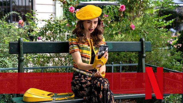 """""""Emily in Paris"""" Staffel 2: Neue Bilder enthüllen Emilys neuen Flirt im Netflix-Megahit"""