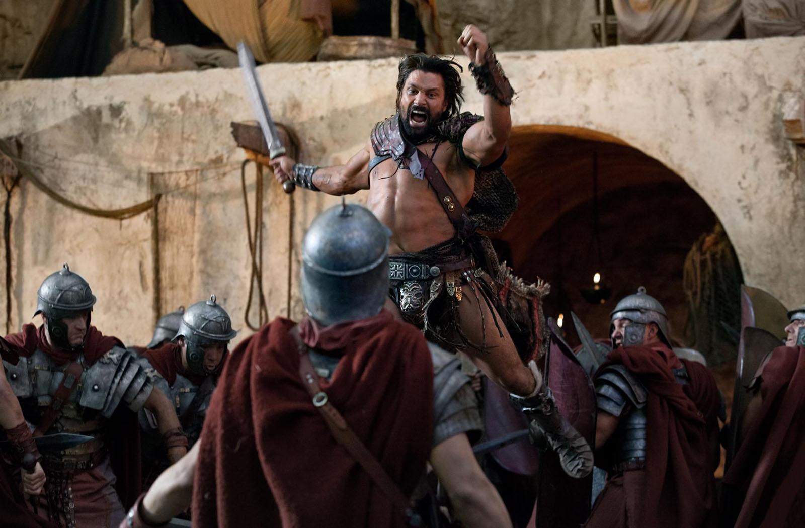 Spartacus: Bild Daniel Feuerriegel, Dustin Clare, Liam