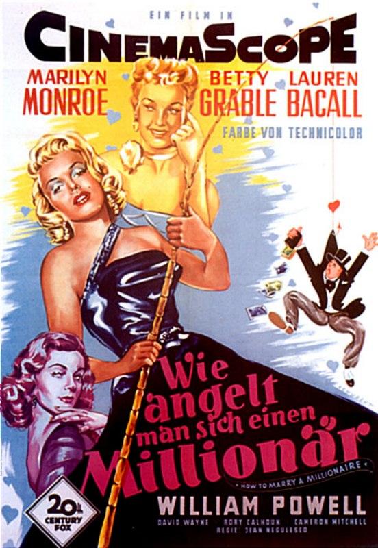 Wie angelt man sich einen Millionär? - Film 1953