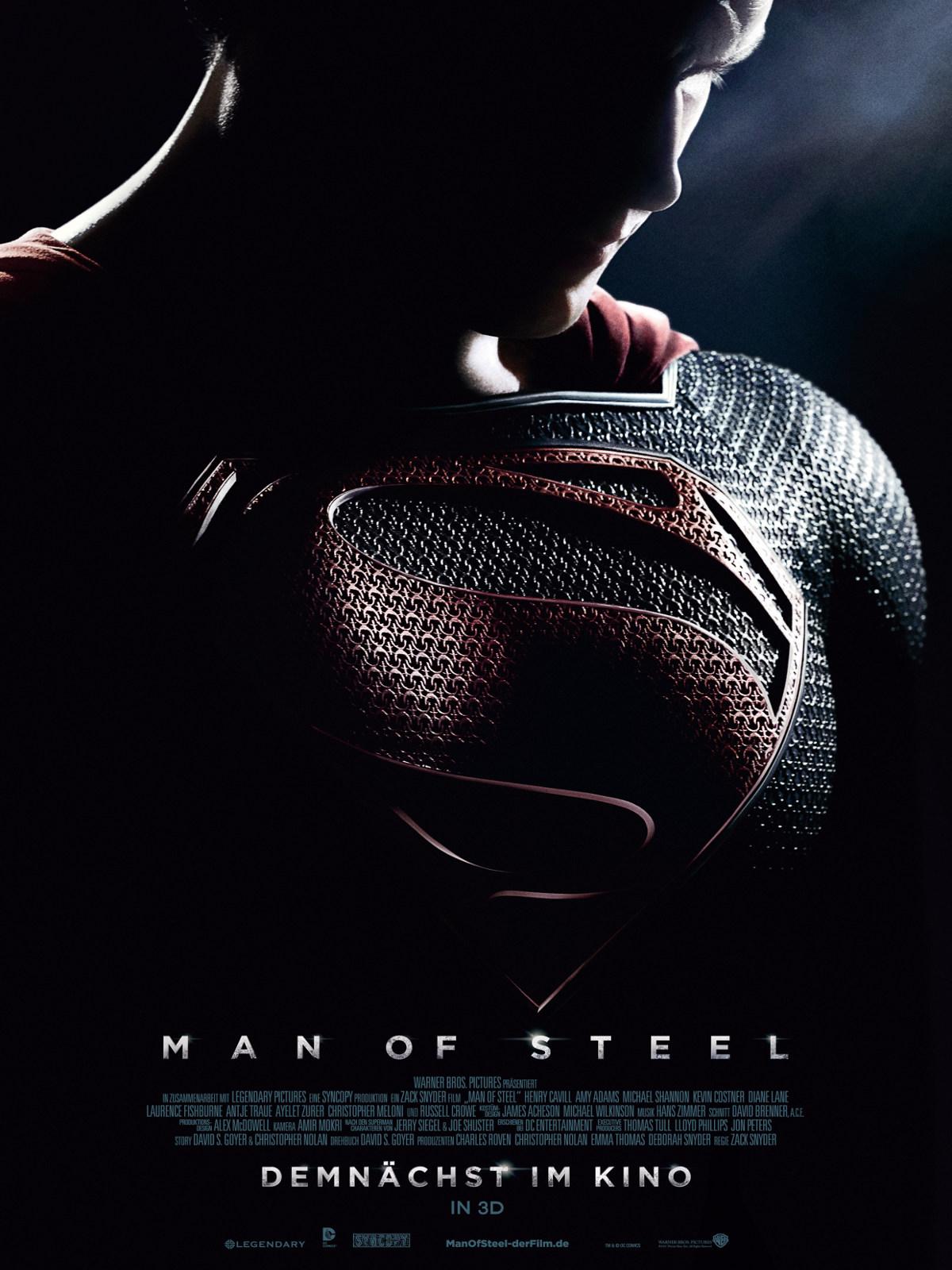 Man Of Steel Besetzung