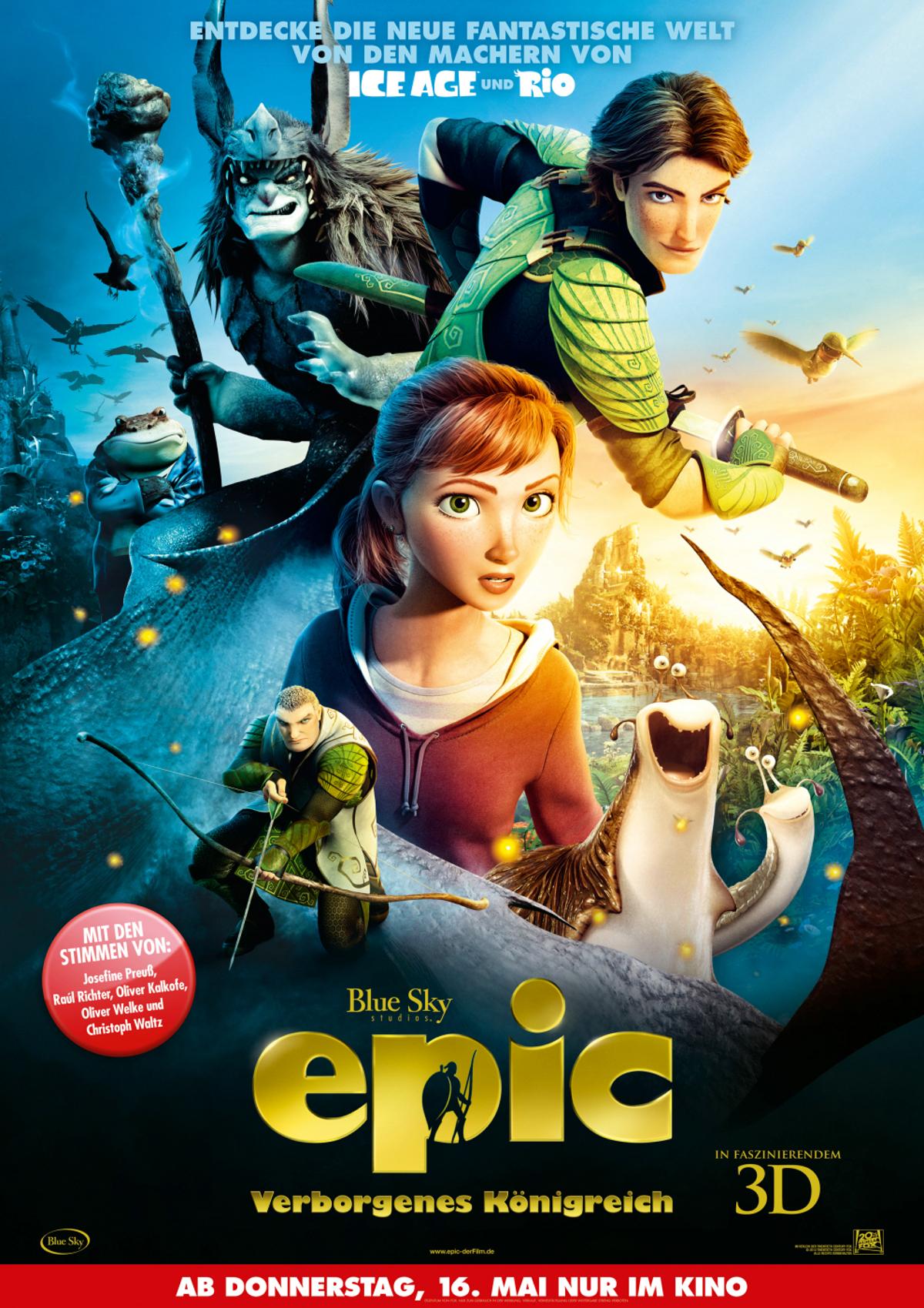 Epic - Verborgenes Königreich - Film 2013 - FILMSTARTS.de