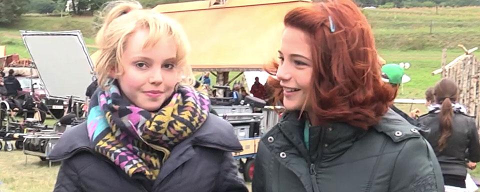 """filmstarts am set von """"bibi  tina 3  mädchen gegen jungs"""