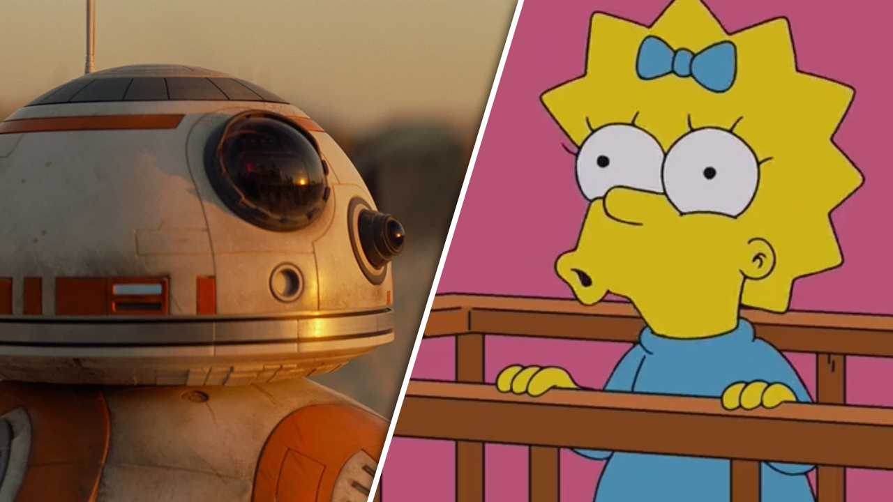 """Crossover-Film von """"Star Wars"""" und """"Simpsons"""" kommt am Star Wars Day zu Disney+"""