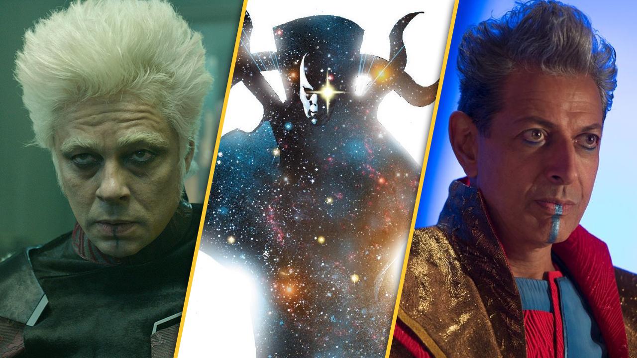 """Nicht erst in """"Eternals"""": In diesen Marvel-Blockbustern sind bereits kosmische Wesen – teils gut versteckt – vorgekommen!"""