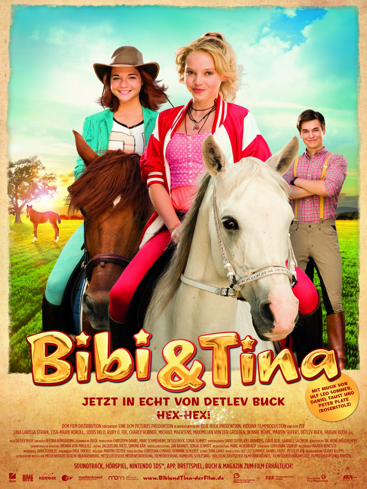 Poster zum Bibi & Tina - Der Film - Bild 1 - FILMSTARTS.de