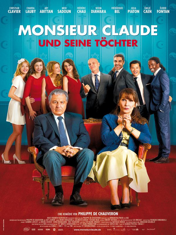 Monsieur Claude und seine Töchter - Film 2014 - FILMSTARTS.de